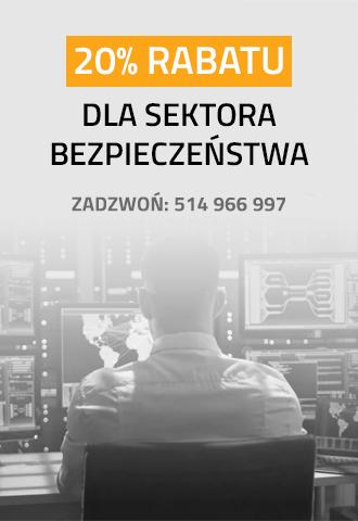 Rabat 20% dla sektora bezpieczeństwa